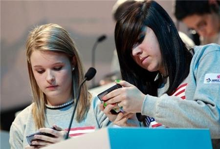 smartphone, teen, người trẻ, thanh thiếu niên, sử dụng, Mỹ, xu hướng, iOS