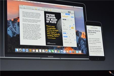Apple ra mat macOS Sierra: Tu dong dang nhap, them Siri hinh anh 2