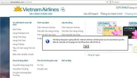 hacker tấn công, website, Vietnam Airlines, sân bay, Nội Bài, Tân Sơn Nhất,