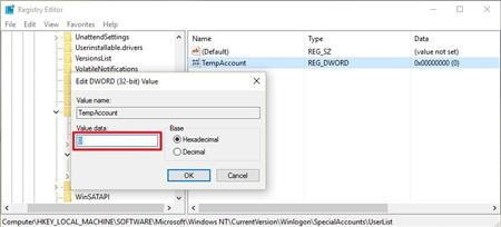 an-tai-khoan-tren-man-hinh-dang-nhap-windows-10_1 Cách ẩn tài khoản trên màn hình đăng nhập Windows 10