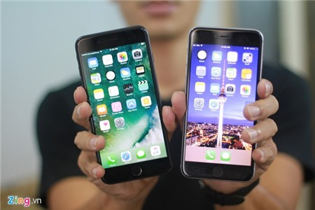 So thiet ke iPhone 7 Plus voi iPhone 6S Plus hinh anh 1
