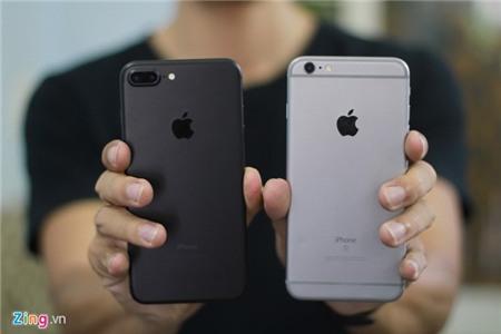 So thiet ke iPhone 7 Plus voi iPhone 6S Plus hinh anh 2