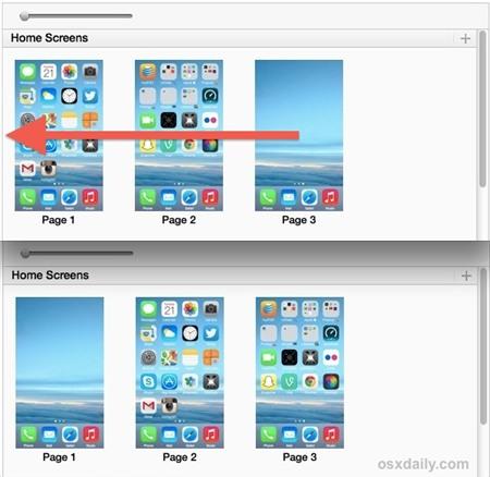 tạo màn hình trống trên iPhone không cần jailbreak