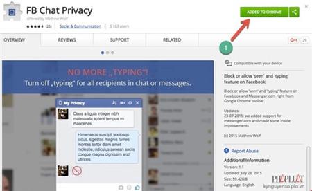Cách đọc tin nhắn Messenger nhưng không hiện