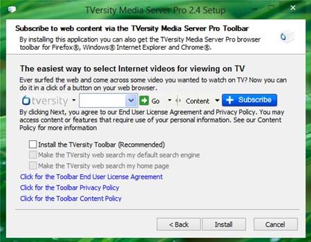 TVersity Media Server 2.4: Dễ dàng chia sẻ multimedia trong mạng LAN