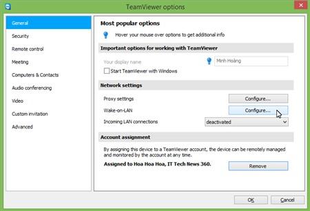 TeamViewer 9 Beta: Điều khiển máy tính từ xa theo thẻ