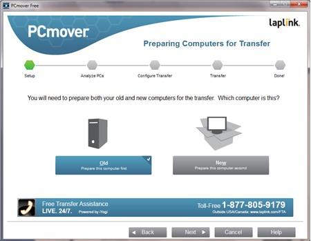 PCmover Free : Chuyển dữ liệu máy tính Windows XP sang máy tính Windows mới - Image 2