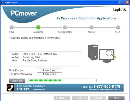 PCmover Free : Chuyển dữ liệu máy tính Windows XP sang máy tính Windows mới - Image 3