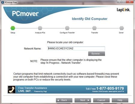 PCmover Free : Chuyển dữ liệu máy tính Windows XP sang máy tính Windows mới - Image 4