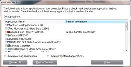 PCmover Free : Chuyển dữ liệu máy tính Windows XP sang máy tính Windows mới - Image 5