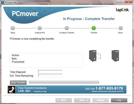 PCmover Free : Chuyển dữ liệu máy tính Windows XP sang máy tính Windows mới - Image 6