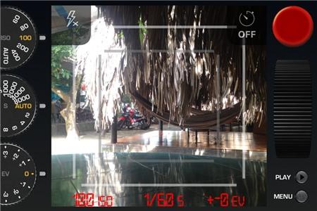 Red Dot Cam: Biến iPhone thành máy ảnh DSLR