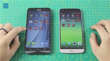 Speed test và đọ khả năng đa nhiệm của 4 GB RAM trên Zenfone 2 với 4 GB RAM trên LG G5