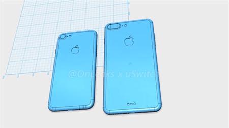 iPhone 7 và 7 Plus lộ diện qua video mô hình 3D
