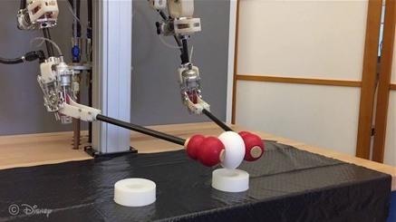 Disney Research giới thiệu hệ thống robot điều khiển từ xa thông qua chuyển động con người