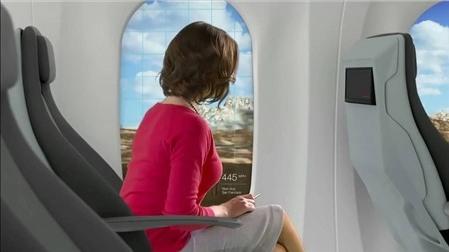 Hyperloop sẽ có cửa sổ tăng cường thực tế ảo