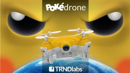 Pokédrone: Ý tưởng hay dùng drone để bắt Pokemon nhưng khó thành hiện thực