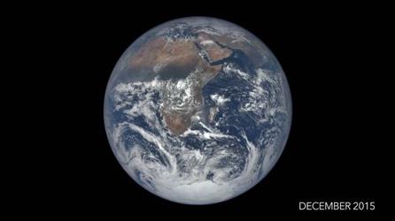 Video time-lapse 1 năm trôi qua trên Trái đất