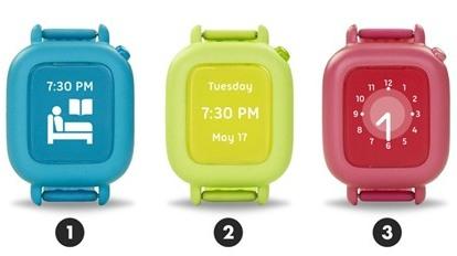 Smartwatch lên lịch trình và dạy trẻ thói quen tự lập