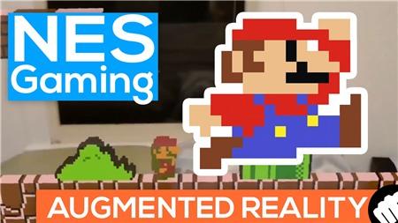 Khi công nghệ AR của Hololens được ứng dụng vào Mario