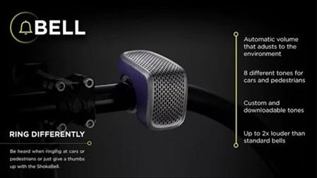 Shoka Bell – chuông thông minh cho người mê đạp xe