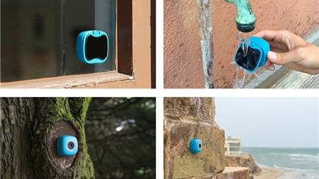 Podo: Camera selfie dán tường, giá từ 39 USD, cảm biến to, ống góc rộng