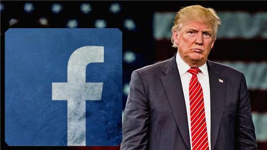 Kết quả hình ảnh cho Facebook Trump