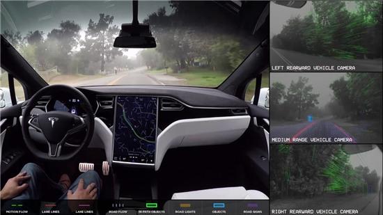 Hệ thống camera trên xe Tesla nhìn thấy những gì khi ở chế độ tự lái