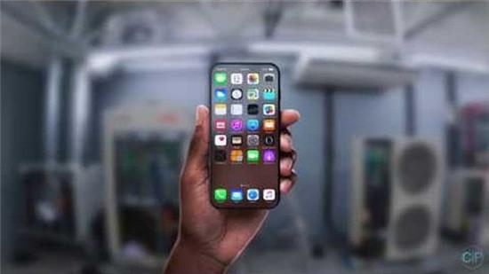 iPhone 8 với màn hình trong suốt cực đẹp