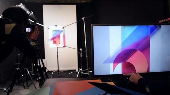 Quá trình LG tạo ra bộ hình nền mới trên G6, mời tải về trọn bộ