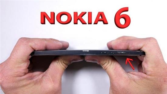 Video bẻ cong, cào xước Nokia 6