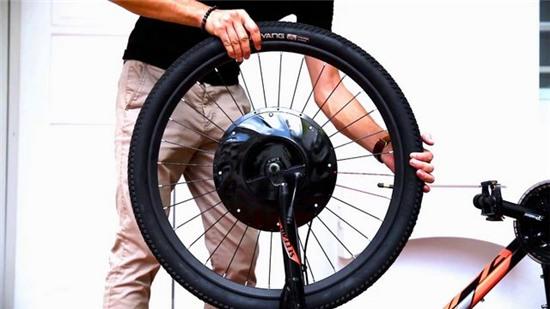 UbanX: chiếc bánh xe thông minh biến xe đạp thường thành xe đạp điện