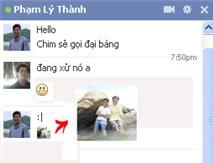 """""""Biến"""" avatar thành biểu tượng chat Facebook"""