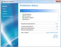 Safensoft SysWatch Personal: Giám sát, bảo vệ hệ thống miễn phí