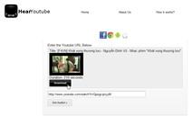 Chuyển đổi video YouTube sang MP3 trực tuyến