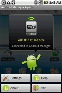 Sao lưu qua kết nối không dây cho Android