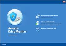Acronis Drive Monitor 1.0: Cảnh báo nhanh sức khoẻ đĩa cứng