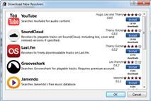 Tomahawk 0.3: Nghe nhạc trực tuyến từ 10 mạng xã hội