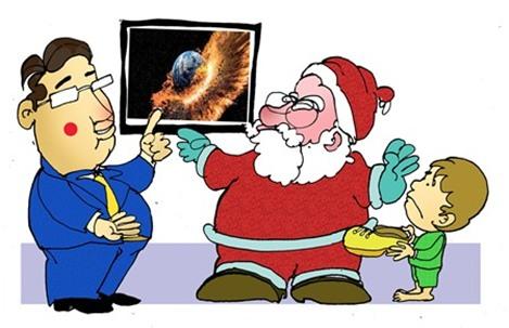 Thư muộn của ông già Noel