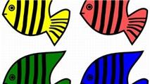 Bể cá bằng giấy