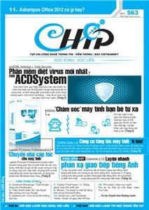Mục lục Tạp chí e-CHÍP 563 ĐXVL (Thứ ba, 3/1/2012)