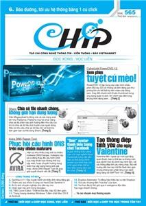 Mục lục Tạp chí e-CHÍP 565 ĐXVL (Thứ ba, 14/2/2012)