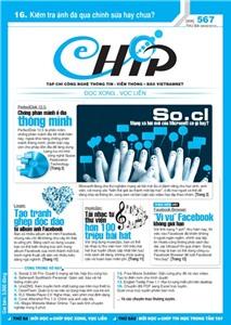 Mục lục Tạp chí e-CHÍP 567 ĐXVL (Thứ ba, 28/2/2012)