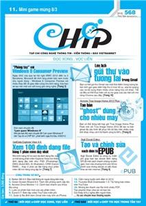 Mục lục Tạp chí e-CHÍP 568 ĐXVL (Thứ ba, 6/3/2012)
