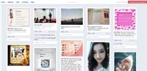 Hiển thị nội dung Facebook theo phong cách Pinterest