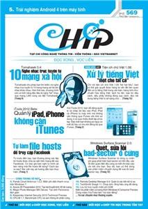 Mục lục Tạp chí e-CHÍP 569 ĐXVL (Thứ ba, 13/3/2012)