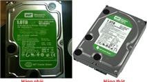 Cẩn thận với ổ cứng nhái của Western Digital
