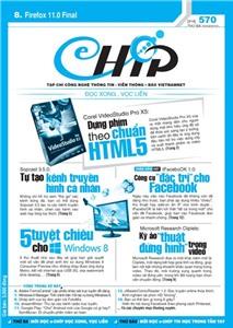 Mục lục Tạp chí e-CHÍP 570 ĐXVL (Thứ ba, 20/3/2012)