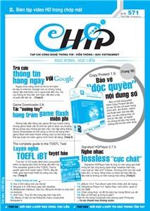 Mục lục Tạp chí e-CHÍP 571 ĐXVL (Thứ ba, 27/3/2012)