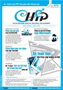 Mục lục Tạp chí e-CHÍP 573 ĐXVL (Thứ ba, 10/4/2012)
